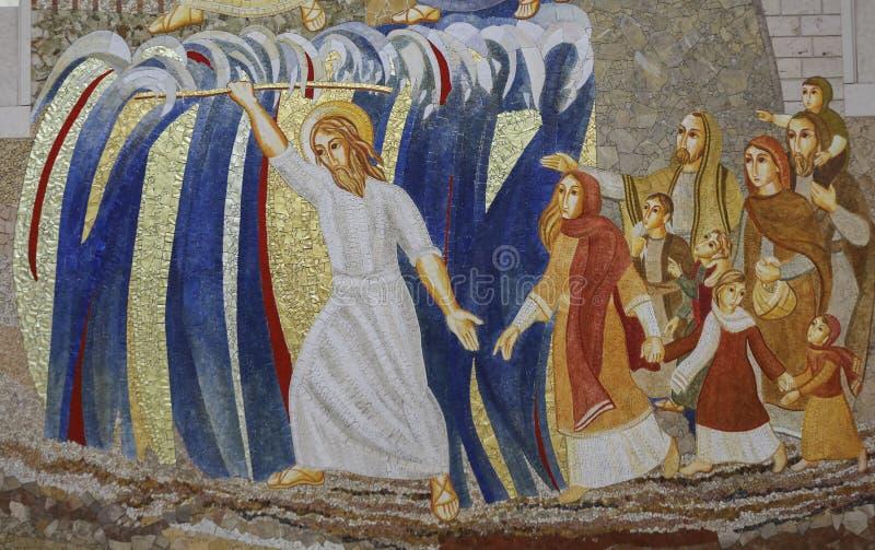 克拉科夫, Lagiewniki -教宗若望保禄二世的中心 库存图片