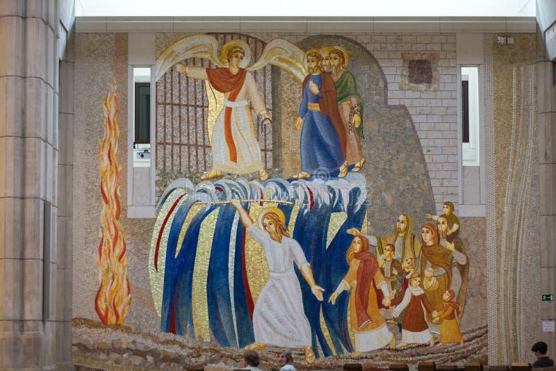 克拉科夫, Lagiewniki -教宗若望保禄二世的中心 图库摄影