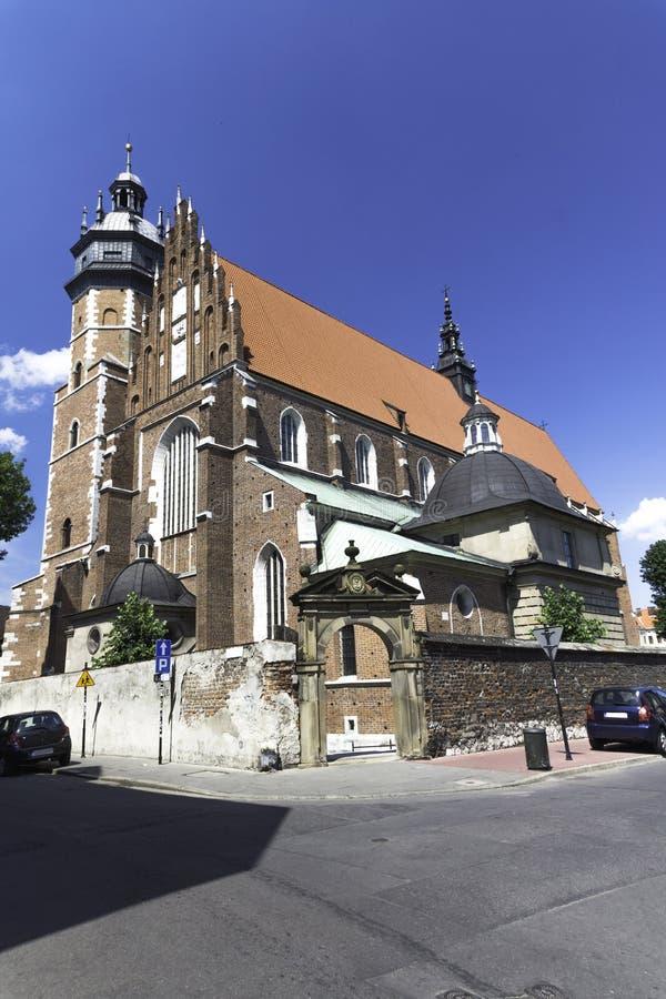 克拉科夫-科珀斯克里斯蒂教会-波兰 免版税库存图片