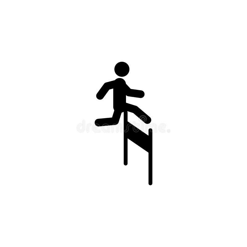 克服困难象 被克服的挑战例证的元素 优质质量图形设计象 标志和标志c 库存例证