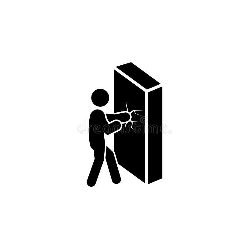 克服困难象 被克服的挑战例证的元素 优质质量图形设计象 标志和标志c 皇族释放例证