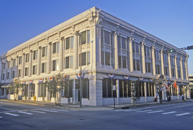 克林顿/戈尔National Campaign Headquarters,小岩城,阿肯色总统的 库存照片