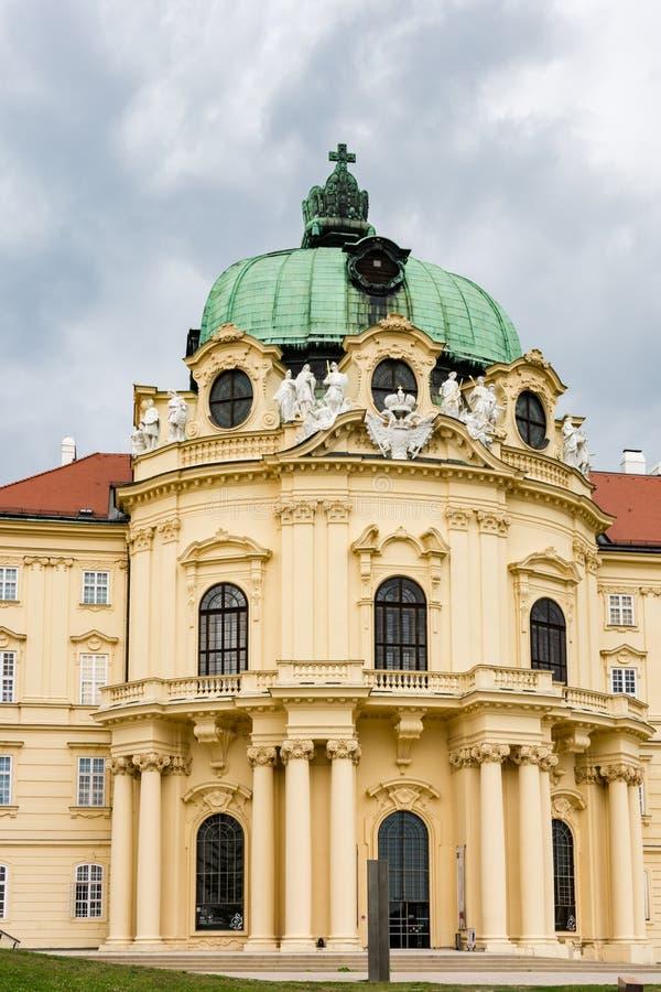 克洛斯特新堡修道院在奥地利 免版税库存图片