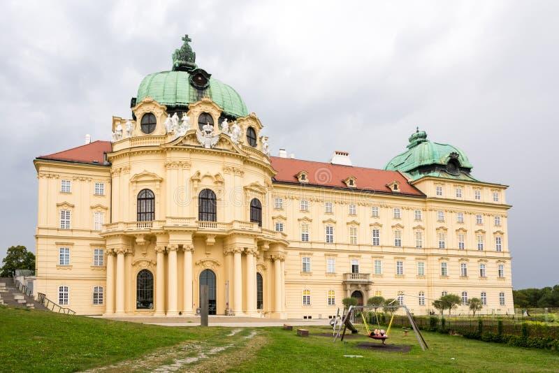 克洛斯特新堡修道院在奥地利 图库摄影