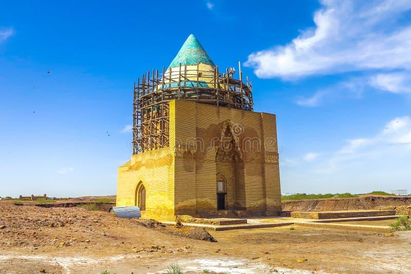 克涅乌尔根奇索尔坦Tekesh陵墓01 免版税库存图片