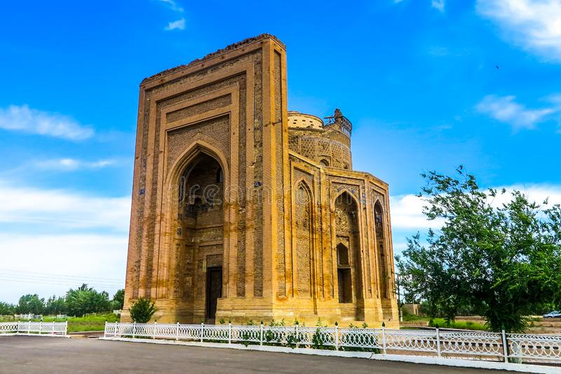 克涅乌尔根奇Turabek Khanum陵墓01 免版税库存图片