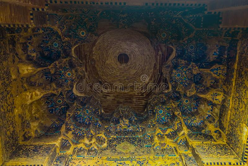 克涅乌尔根奇Turabek Khanum陵墓04 库存照片