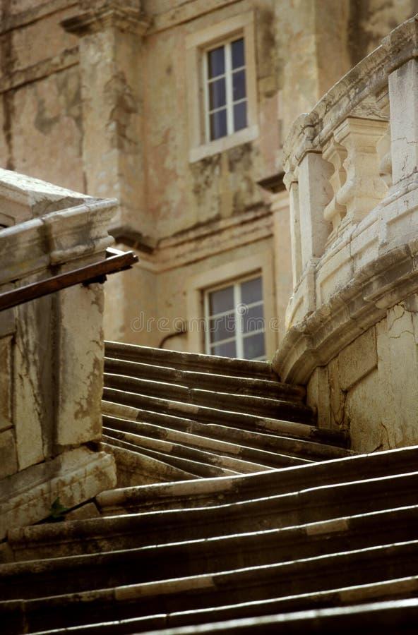 克罗地亚台阶 免版税库存图片