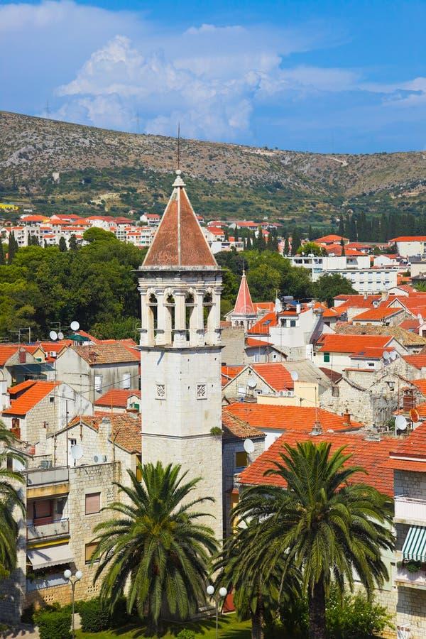 克罗地亚城镇trogir 免版税库存照片