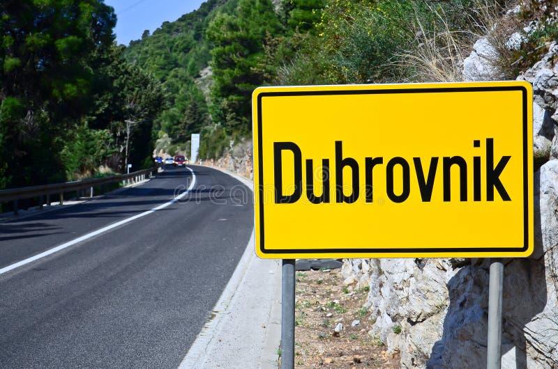 克罗地亚杜布罗夫尼克市 免版税库存图片