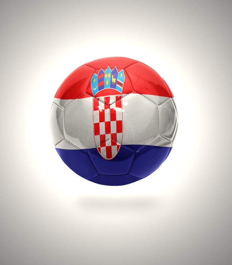 克罗地亚橄榄球 皇族释放例证