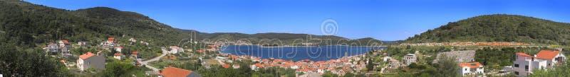 克罗地亚海岛力 免版税图库摄影