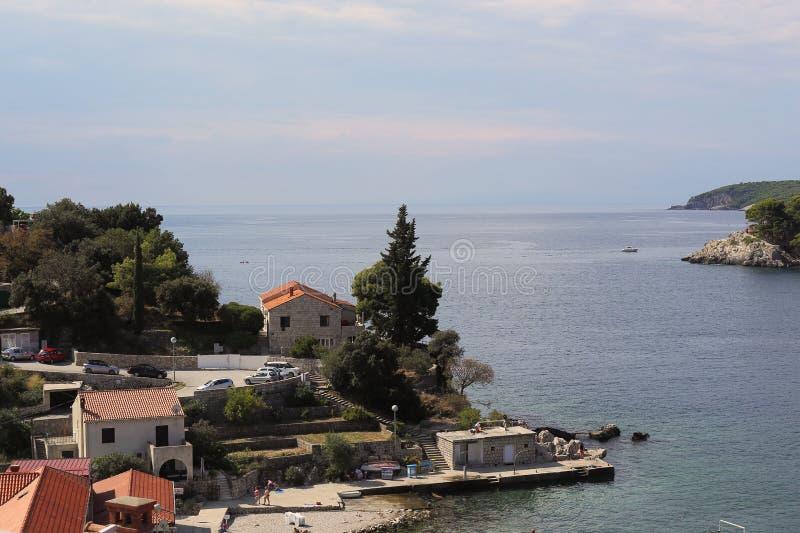 克罗地亚海边解决 库存图片
