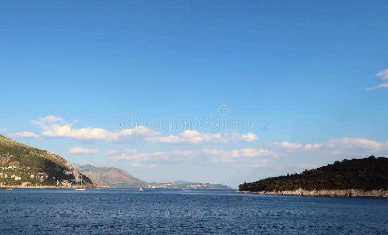 克罗地亚海 库存图片