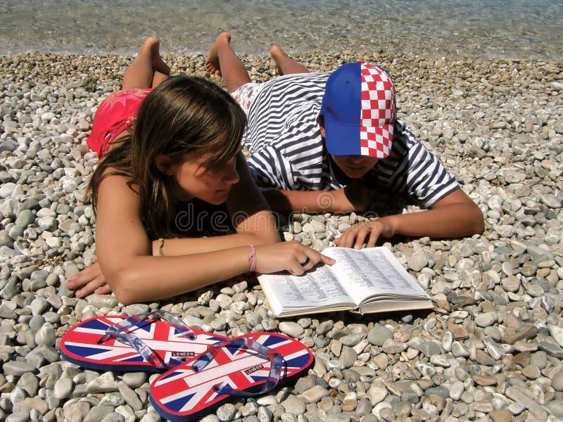 克罗地亚词典英国 图库摄影