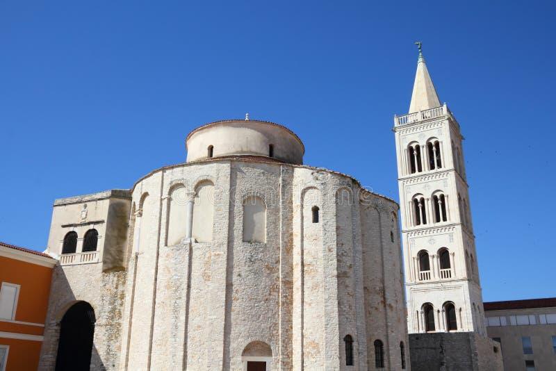 克罗地亚- Zadar 免版税库存照片