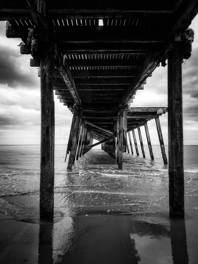 克莱尔蒙特码头Lowestoft萨福克 免版税库存照片