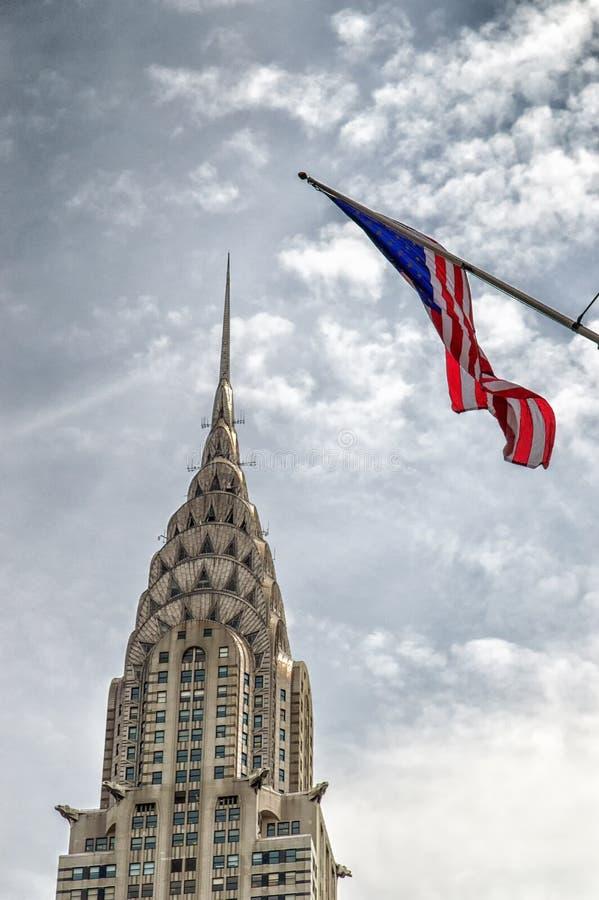 克莱斯勒大厦,纽约,美国 库存照片