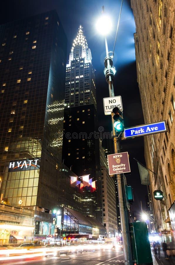 克莱斯勒大厦,纽约 库存图片