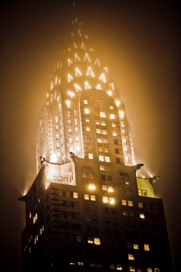克莱斯勒大厦 免版税图库摄影