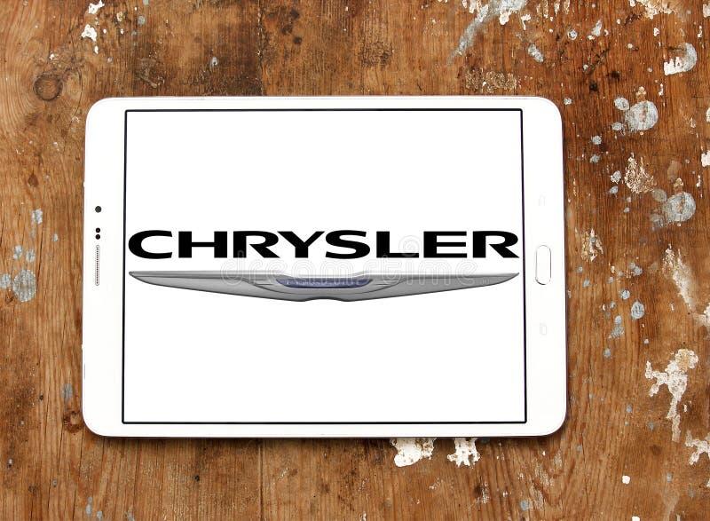克莱斯勒汽车商标 库存图片
