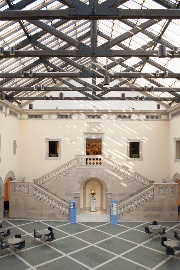 克莱斯勒美术馆诺福克弗吉尼亚 免版税图库摄影