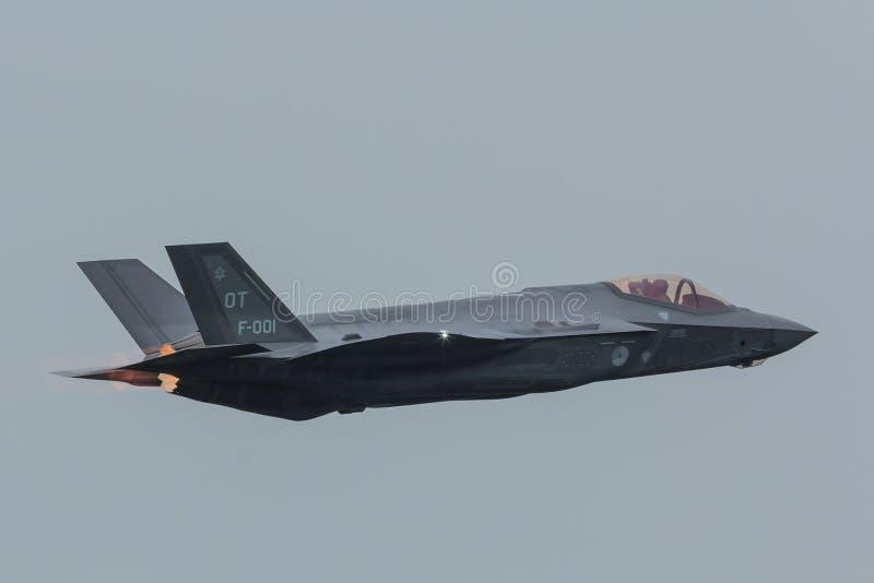 洛克西德・马丁F-35闪电II 免版税库存图片