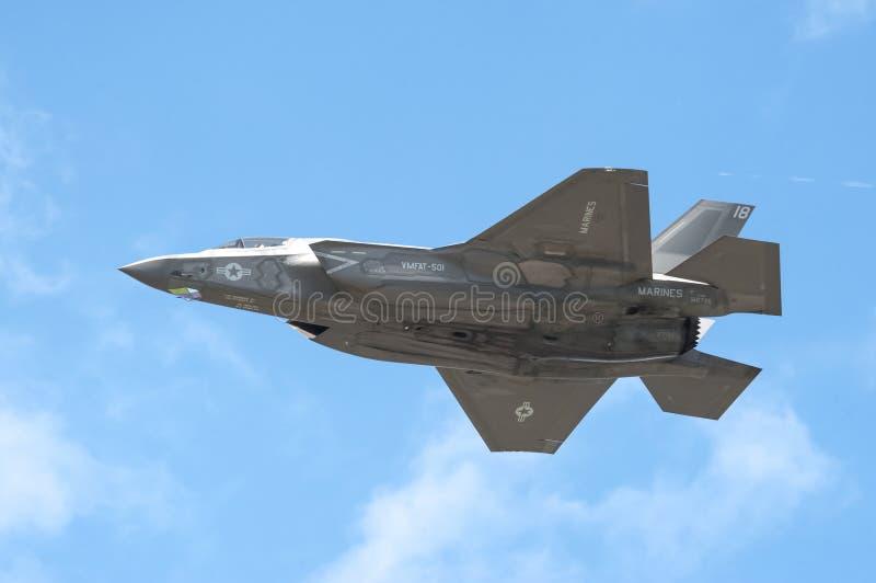 洛克西德・马丁F-35B闪电II 库存图片
