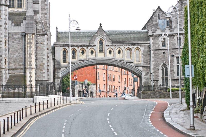 克赖斯特切奇大教堂,都伯林,爱尔兰 免版税库存图片