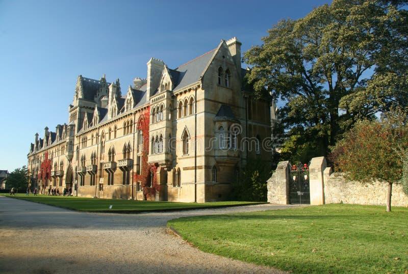 克赖斯特切奇学院牛津 免版税图库摄影