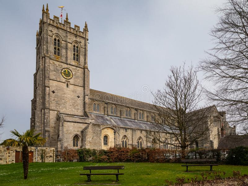 克赖斯特切奇小修道院-克赖斯特切奇教区  免版税库存图片
