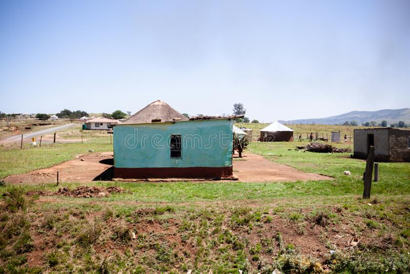 克赖顿小镇附近的一处乡村住宅 库存照片