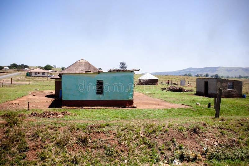 克赖顿小镇附近的一处乡村住宅 库存图片