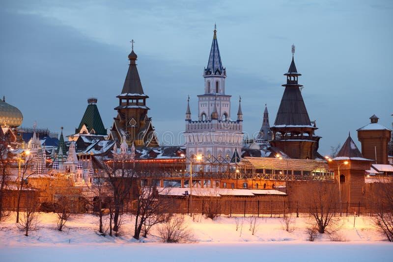 克里姆林宫。 莫斯科。 库存照片