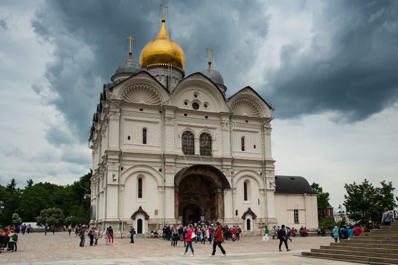 克里姆林宫和红场,莫斯科 库存照片