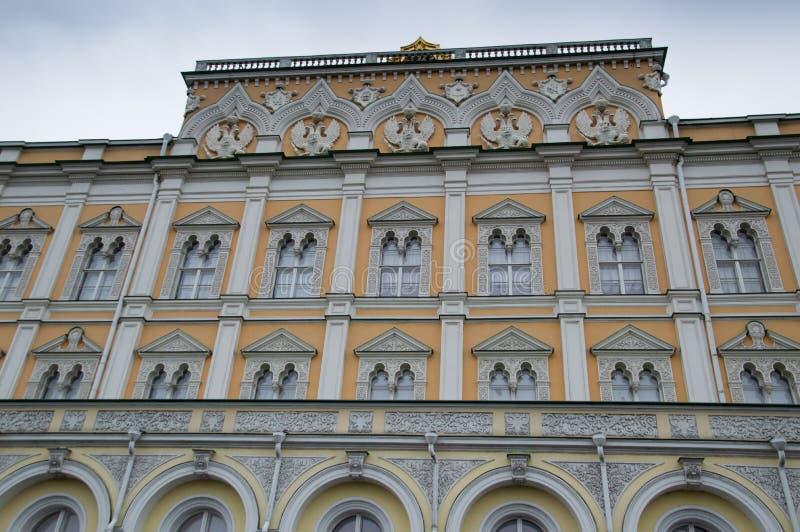 克里姆林宫大厦外部  免版税库存图片