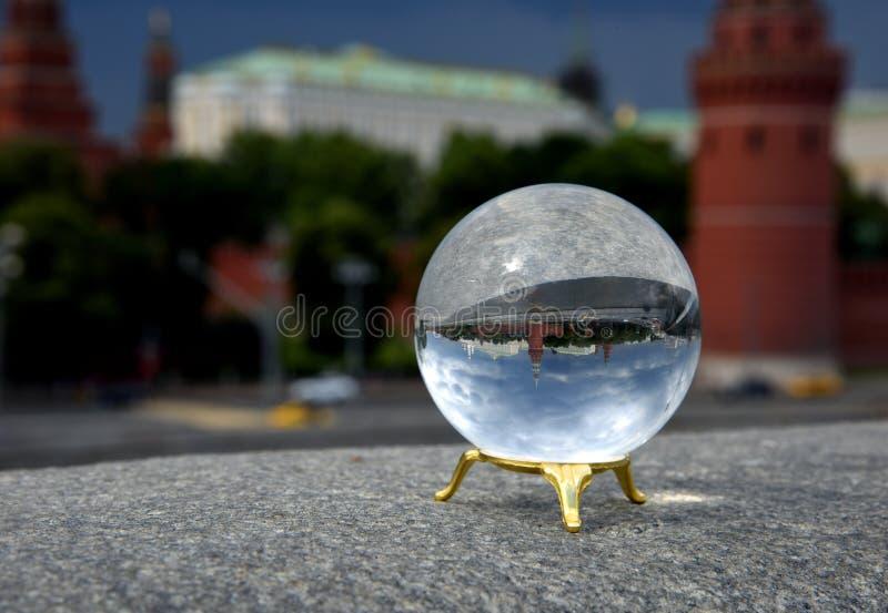 克里姆林宫码头 免版税图库摄影