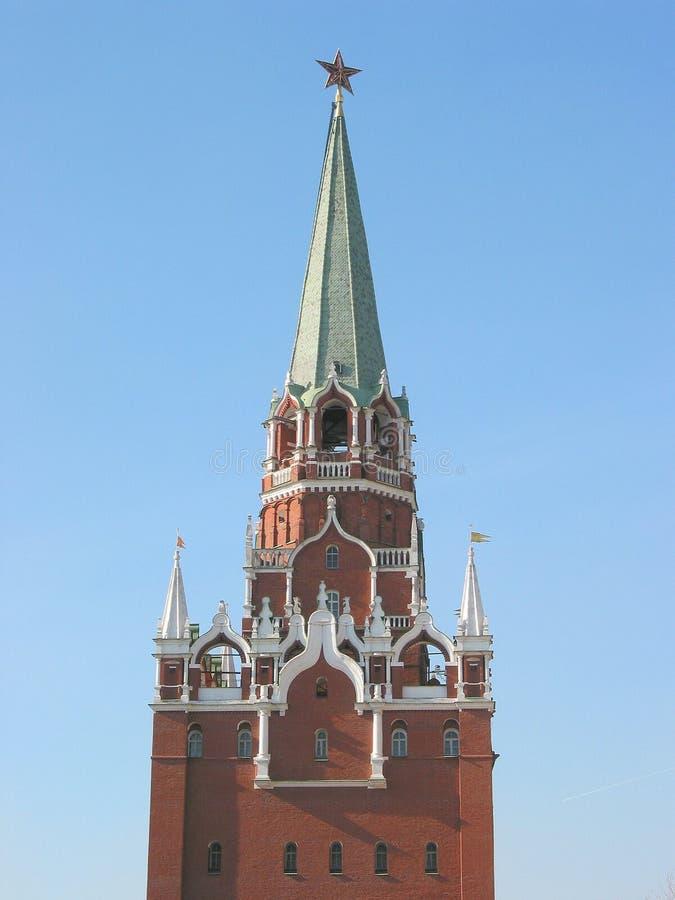 克里姆林宫莫斯科俄国 免版税库存照片