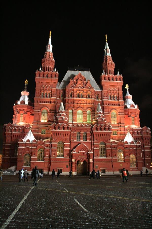 克里姆林宫莫斯科晚上 库存照片