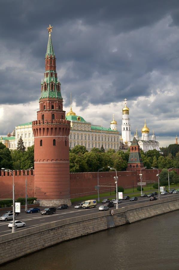 克里姆林宫莫斯科s塔 库存图片