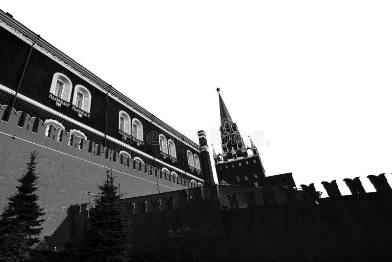 克里姆林宫,一个普遍的旅游地标的看法 科教文组织世界遗产站点 免版税图库摄影