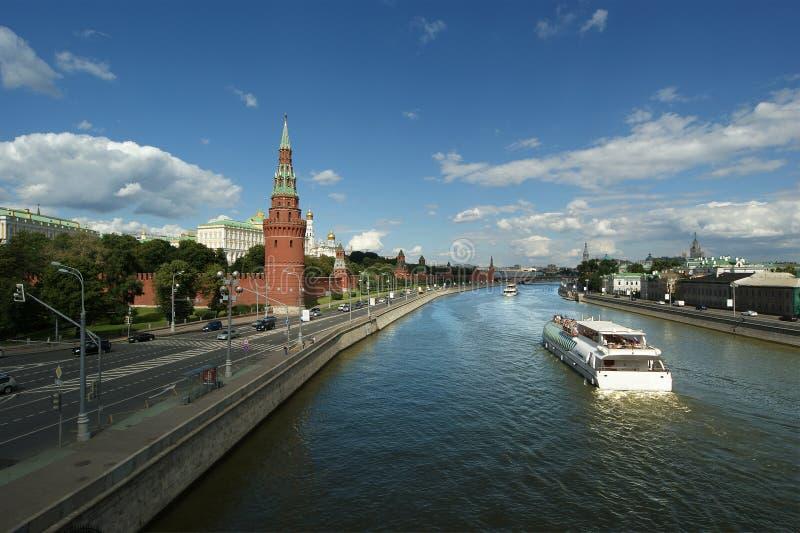 克里姆林宫,俄罗斯。联合国科教文组织世界遗产名录站点 免版税库存照片