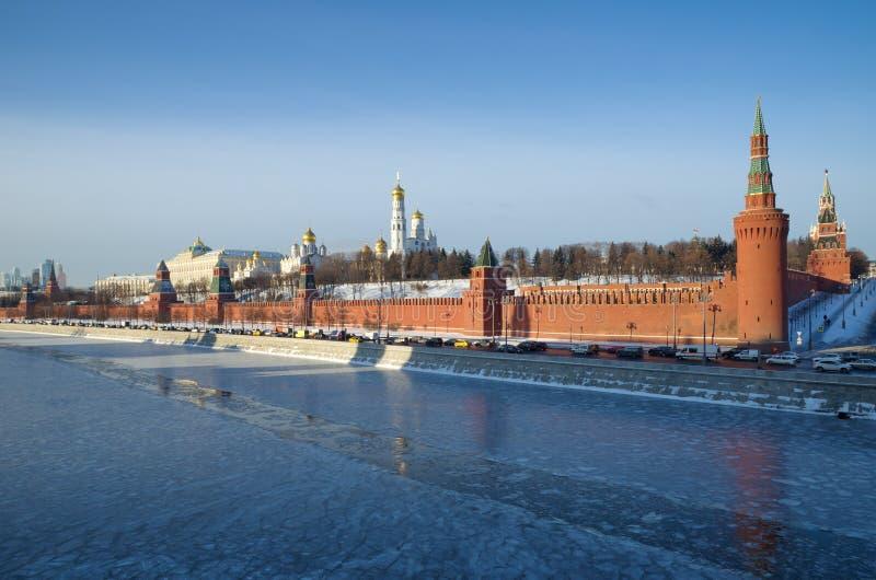 克里姆林宫,俄罗斯的美丽的景色 库存图片
