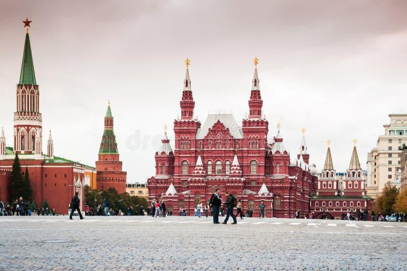 克里姆林宫,红场莫斯科,俄罗斯 免版税库存照片