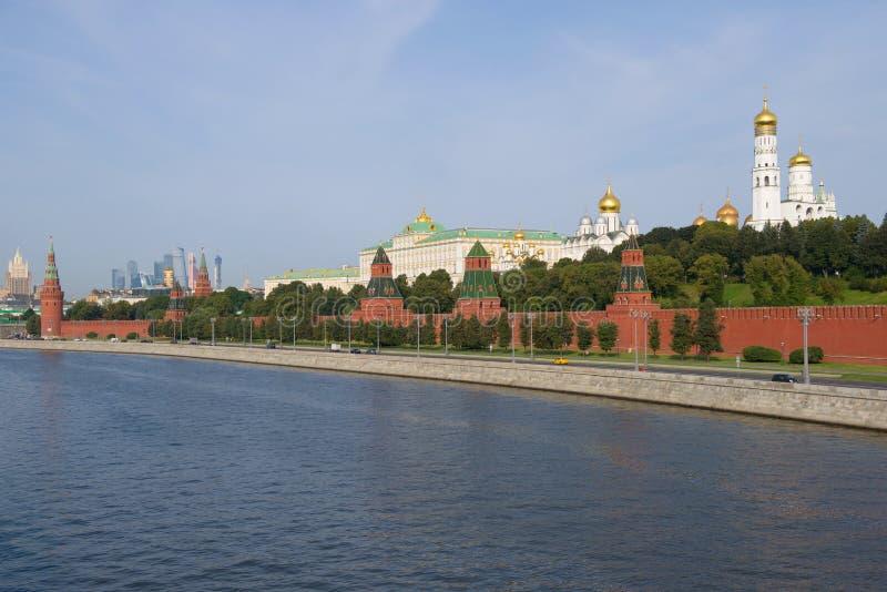 克里姆林宫,9月早晨 莫斯科俄国 库存图片