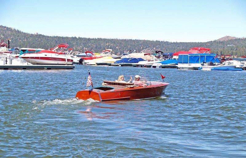 克里斯工艺速度小船 免版税库存照片