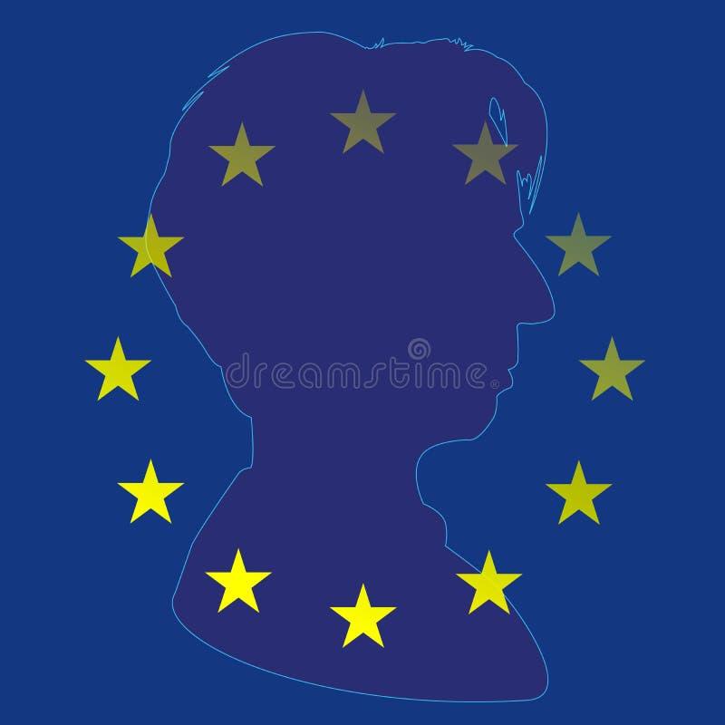 克里斯蒂娜・拉加德,新的欧洲中央银行行长 皇族释放例证