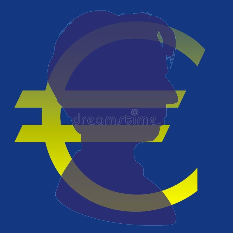 克里斯蒂娜・拉加德,新的欧洲中央银行行长 库存例证