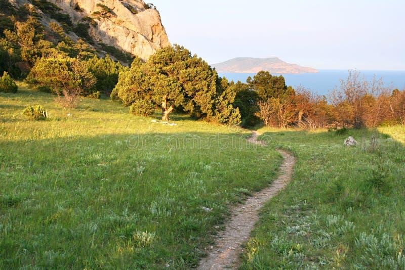 克里米亚半岛山 库存图片