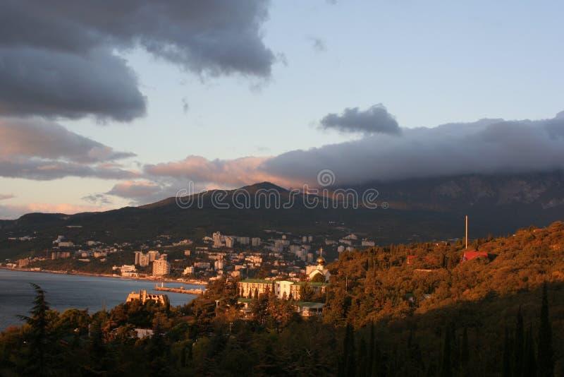 克里米亚半岛魅力 库存照片